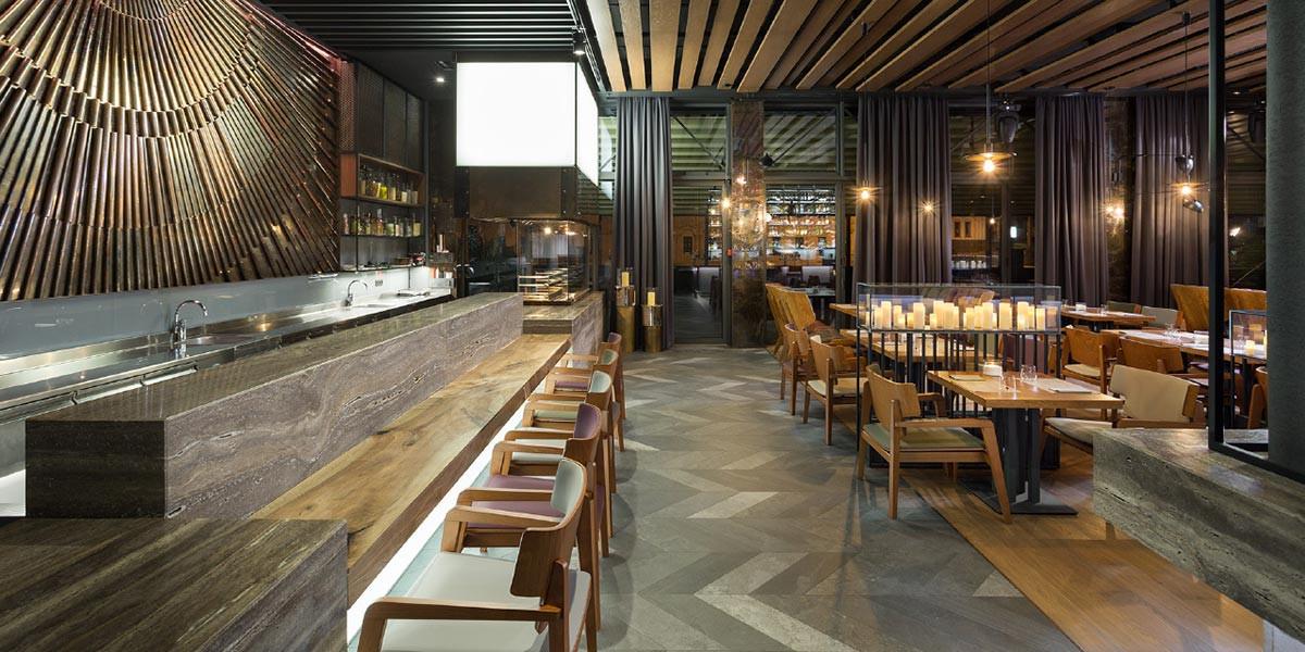apariencia elegante marca famosa detalles para Nikas Restaurant